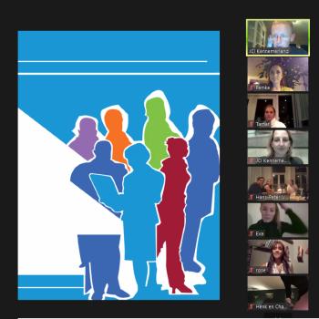 Digitale leden vergadering oktober